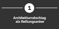 Architekturratschlag als Reetungsanker in API Initiativen